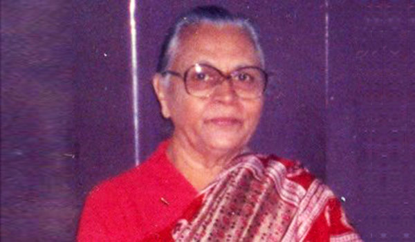 Late Mrs. D. P. Roy